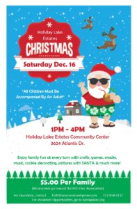 Christmas Event @ HLE Community Center