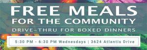 Free Community Drive-Thru Dinner @ Holiday Lake Estates Civic Center